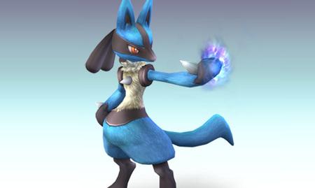 Lucario en Super Smash Bros. Brawl