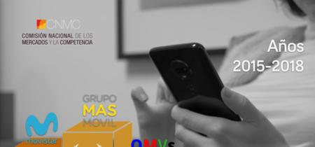MásMóvil arrasa, Movistar triunfa, Orange se estanca y Vodafone en mínimos: así fue la evolución de líneas en 2018