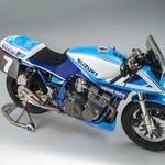 La impresionante Katana restomodo del Team Classic Suzuki lista para asaltar Donington Park