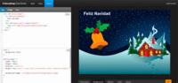 Crea tus propias postales navideñas en HTML de manera sencilla con Codeacademy Code Cards
