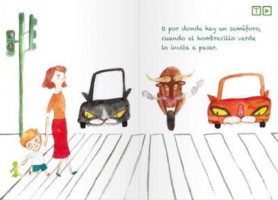 Libros interactivos infantiles para educación vial