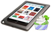 Nook Color se actualiza con Froyo, Flash, Facebook y Angry Birds