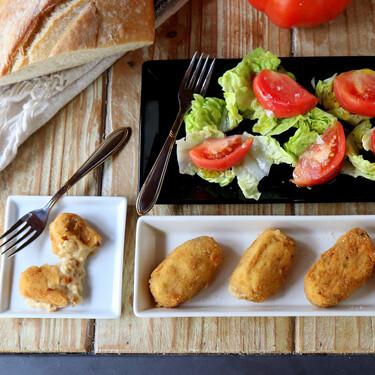 Croquetas de chistorra, la sorprendente (y cremosa) receta llena de sabor