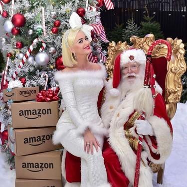 Katy Perry y Jessica Alba apuestan por las manicuras más navideñas