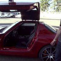 David Coulthard prueba el nuevo SLS AMG GT en Nürburgring