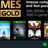 Juegos de Xbox Gold gratis para Xbox One y 360 de diciembre 2018