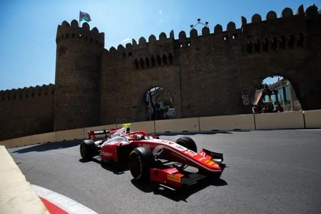 Sean Gelael Baku Formula 2 2019