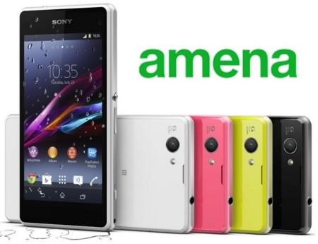 Precios Sony Xperia Z1 Compact con Amena y comparativa con Orange