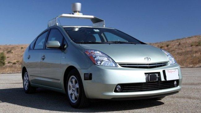 Toyota Prius autónomo