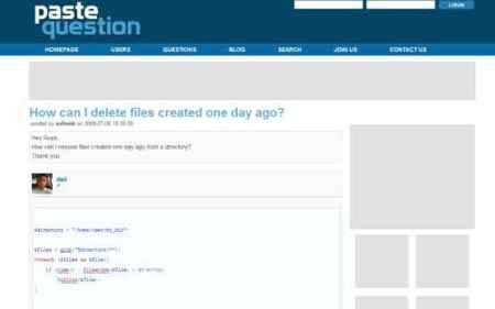 Paste question, comunidad de preguntas y respuestas para programadores