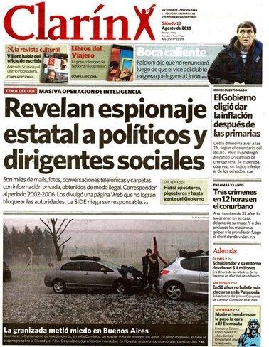 La justicia argentina reconoce que los documentos publicados por LeakyMails son 'secretos políticos'