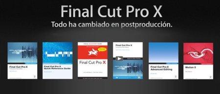 Aprende a fondo Final Cut Pro X y Motion 5 gracias a los libros de Peachpit