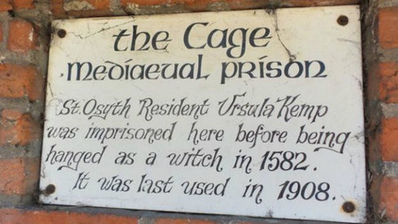 Cage Sign