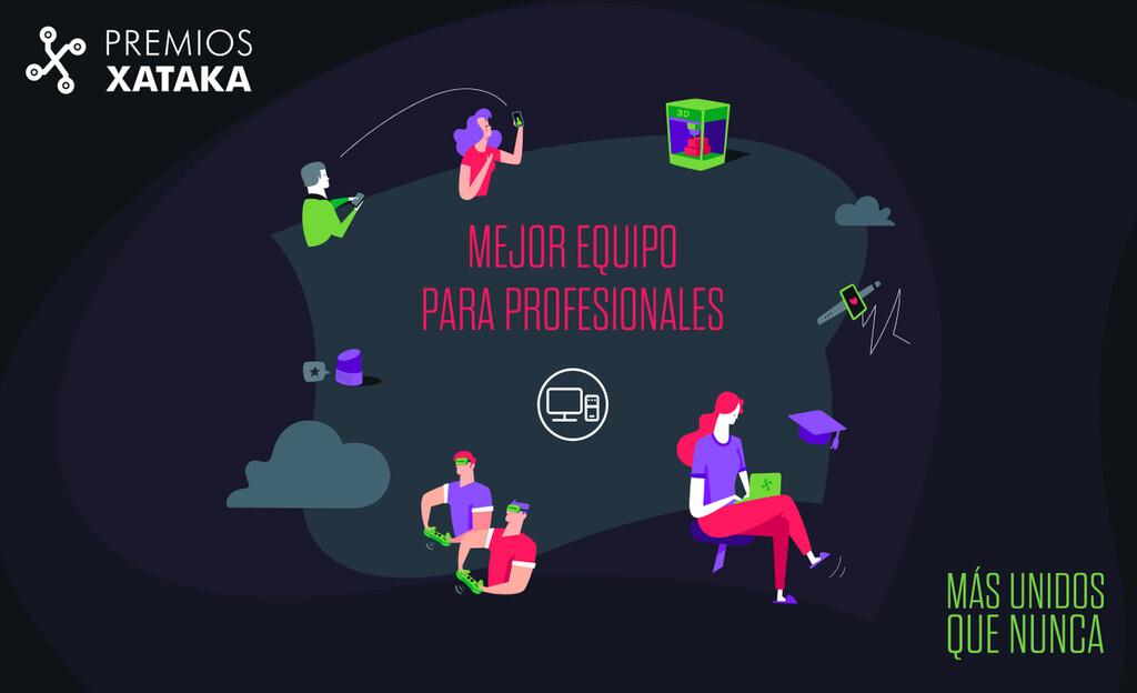 Mejor equipo para profesionales - Xataka Pro: vota en los Premios Xataka 2020