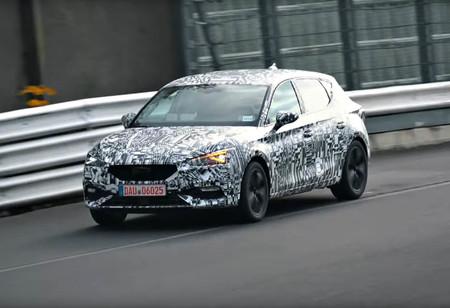 El nuevo SEAT Leon y su frontal de SEAT Tarraco ya se dejan ver por el Nürburgring