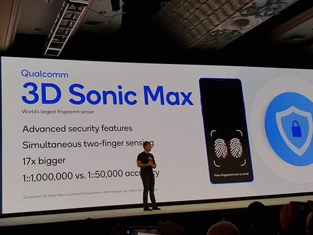 El nuevo sensor de huellas en pantalla de Qualcomm es mucho más grande, más seguro y puede escanear dos dedos al mismo tiempo