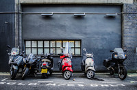 Eliminan el 100% de los robos de motos en principales áreas del centro de Londres