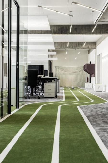 Oficinas One Football
