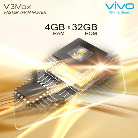 Vivo V3 y V3Max se presentan con la velocidad por bandera