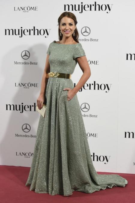 Paula Echevarría en los Premios Mujer Hoy 2014