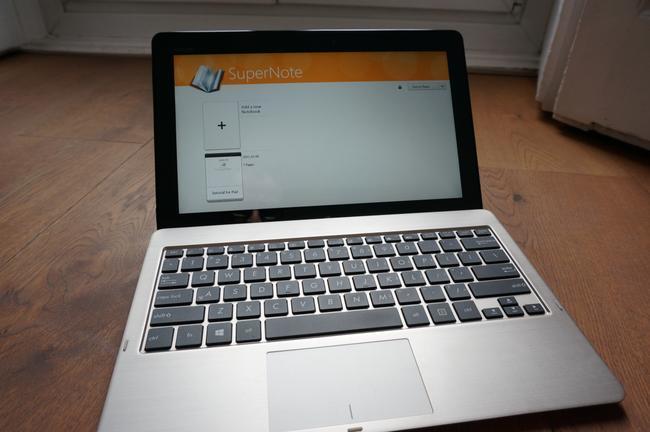 Asus Vivo Tab teclado