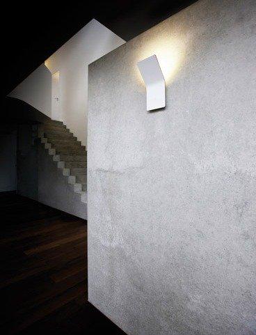 Apliques minimalistas one for Apliques de pared para escaleras