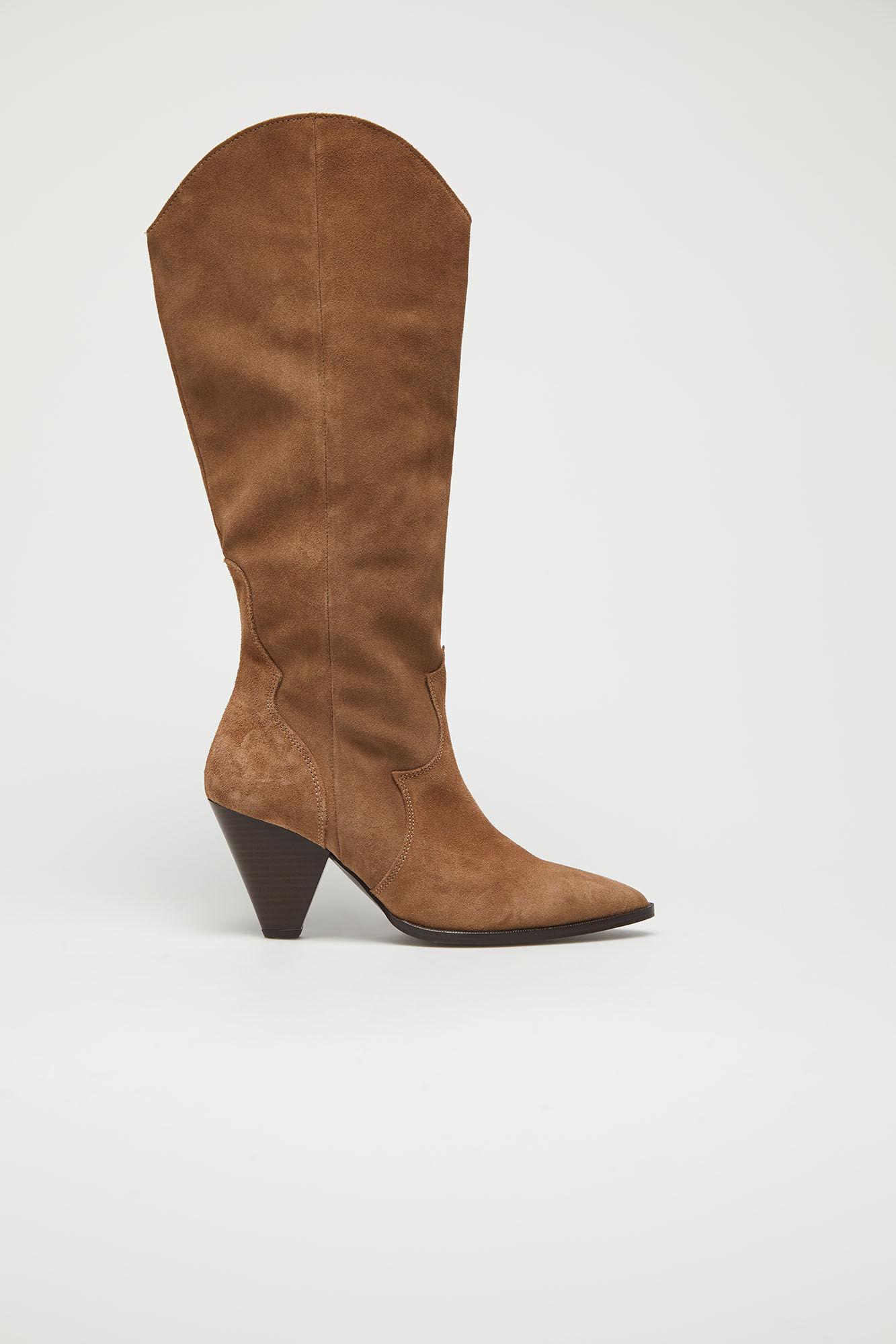 Botas altas de estilo cowboy de Slowlove