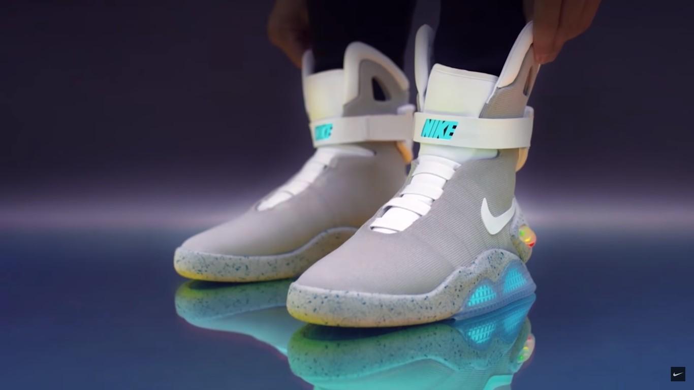 Debilidad secundario Certificado  Nike Mag Back To The Future