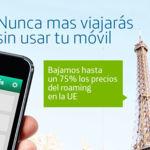 Movistar estrena bono para hablar en roaming en Europa y rebaja las tarifas por defecto