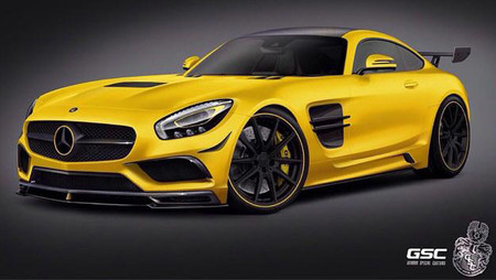 German Special Customs Mercedes-AMG GT