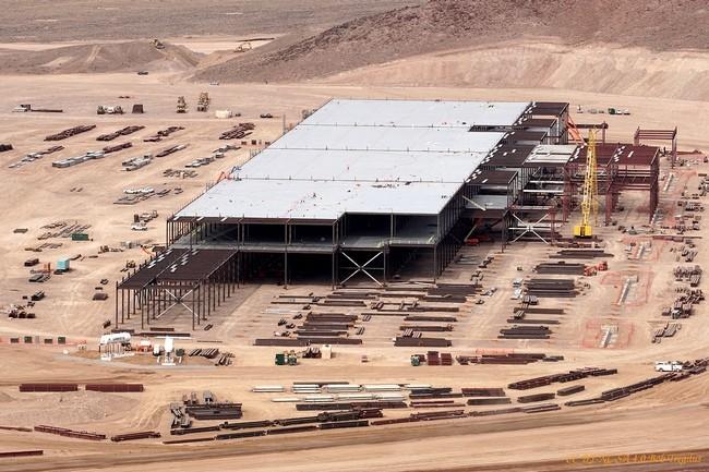 Tesla Fabrica Baterias