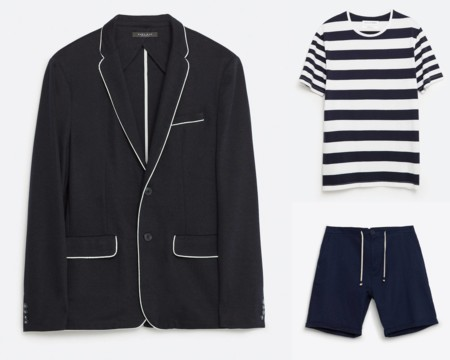 Blazers Shorts Primavera Verano 2016 Trendencias Hombre