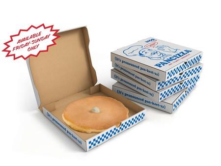 Pancizza: el pancake del tamaño de una pizza de IHOP