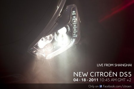 Citröen presentará el DS5 en el Salón de Shangai