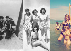 31 imágenes que muestran cómo ha cambiado nuestra forma de ir a la playa en los últimos 100 años