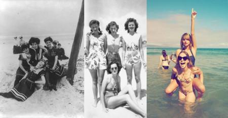 31 imágenes que muestran cómo ha cambiado nuestra forma de ir a la playa en los últimos 100 años