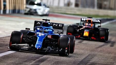 Alonso Verstappen Sakhir F1 2021