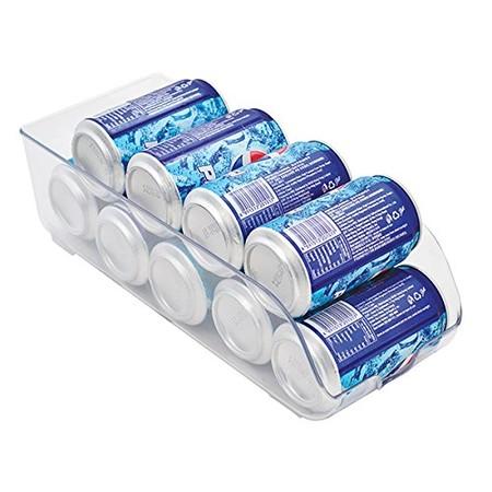 Más sitio en la nevera con el organizador de latas para frigorífico M Home: cuesta 4,50 euros en Amazon