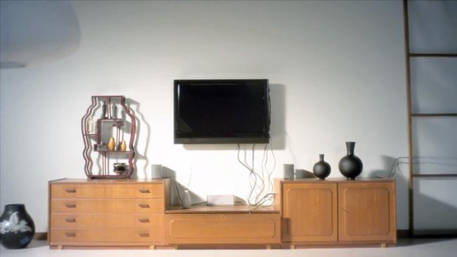 televisión ikea - cables