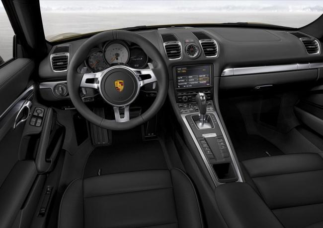 Porsche Cayman 2013 interior