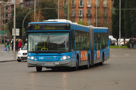 Bus Urbano Madrid