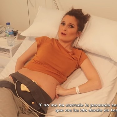 Verdeliss publica el vídeo completo de su parto prematuro y recibe un aluvión de críticas en redes sociales