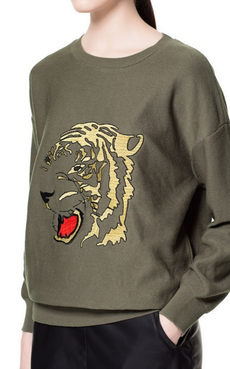 ¿Aceptamos tigre como animal de compañía? Zara y Pull & Bear sí