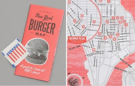 New York Burger Map, para que no te pierdas entre hamburguesa y hamburguesa
