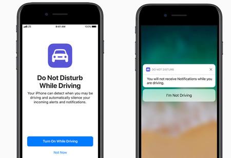Apple iOS11 no molestar