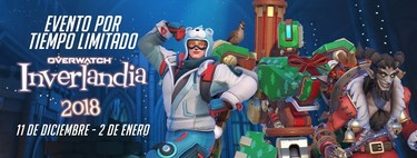 Overwatch es el último en apuntarse a la Navidad y vuelve Inverlandia en 2018 con nuevas skins y modos de juego