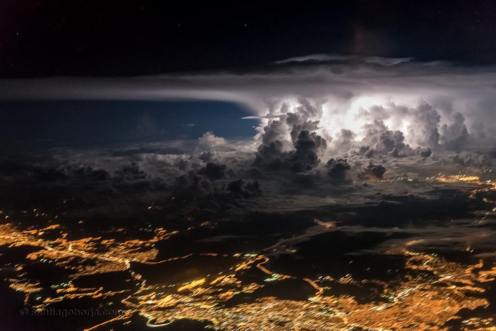 Santiago Borja Fotos Tormentas Desde Avion 10