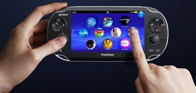 PS Vita controles táctiles