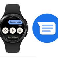 Mensajes de Google para Wear OS se actualiza lanzando su rediseño a más relojes: estas son sus novedades