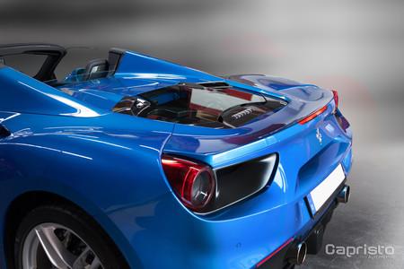 Capristo quiere que veas el motor de tu Ferrari 488 GTB por esta ventana